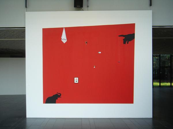 Extase, installatie ccHasselt, 2006