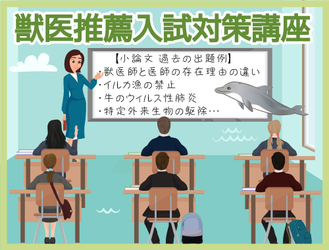 ★ジュイク 獣医推薦入試対策講座