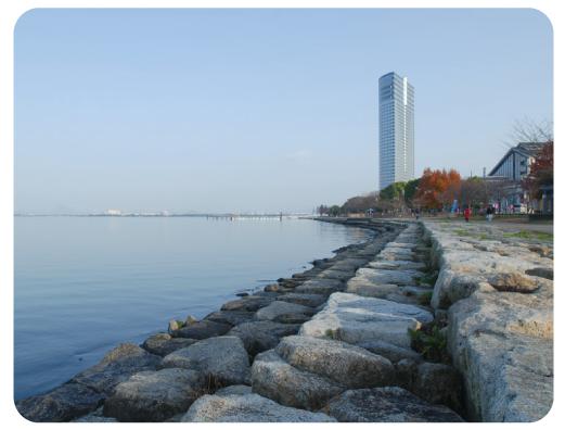 びわ湖 学習に集中できる好環境立地
