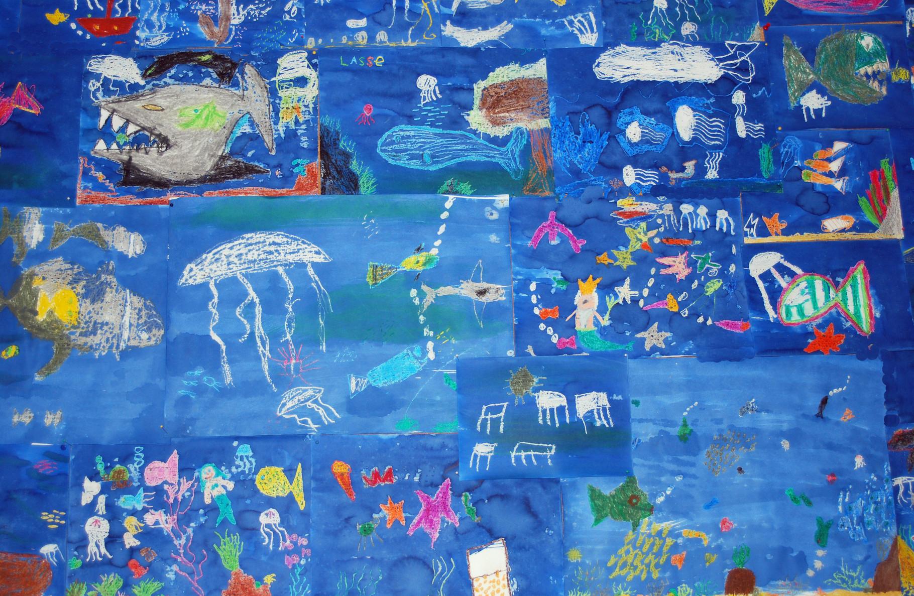 Unterwasserwelt, Klasse 1-3, 2012?