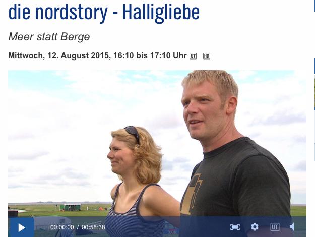 Halligliebe - Eine NDR Reportage über unsere Herberge im Meer und das Leben auf der Hallig