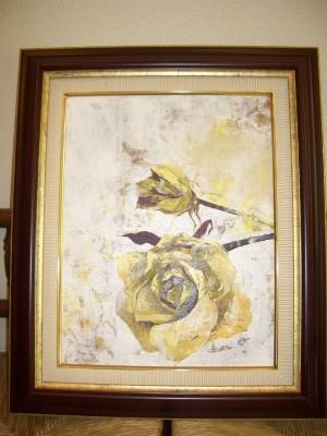 『花(額付き)』 25,000円