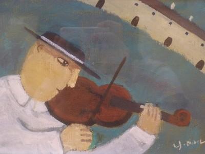 バイオリン弾き 13,000円