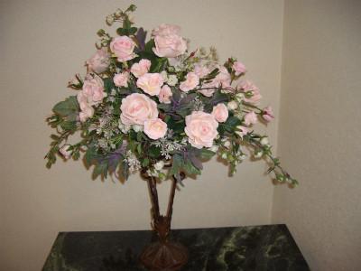 『優しいピンクのバラ達』 15,800円