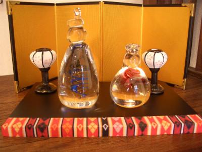 『ガラスのお雛様』 8,500円