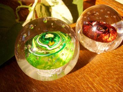 『Green Earth(左)、 Red Mars(右)』 各3,500円