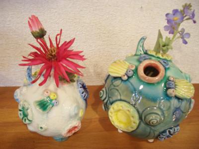 『ふぐ花器』 4,000円(税抜き)