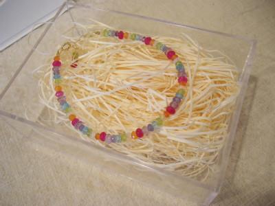 『虹色のブレスレット』 16,800円