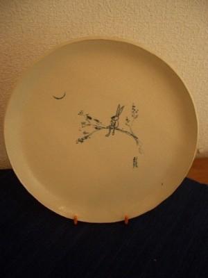 『沖縄絵皿』 8,000円