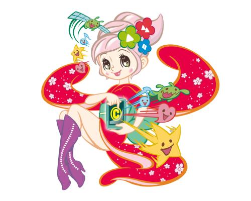 "JAPACON Image character""Mai"" (SUTEKI Inc.)"