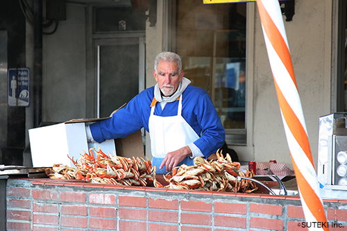 Fishermans Wharf, located in San Francisco California (株式会社ステキ)