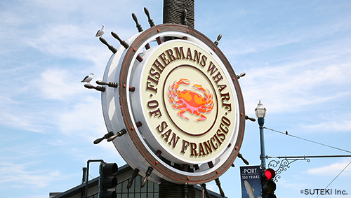 , located in San Francisco California (株式会社ステキ)