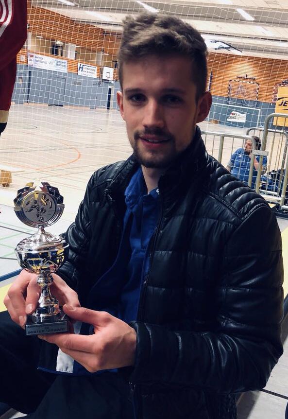 Bester Torwart des Turniers: Daniel Schöning