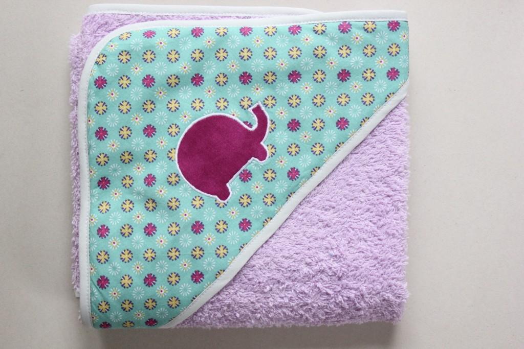 Sortie de bain motif Elephant (Exemple)