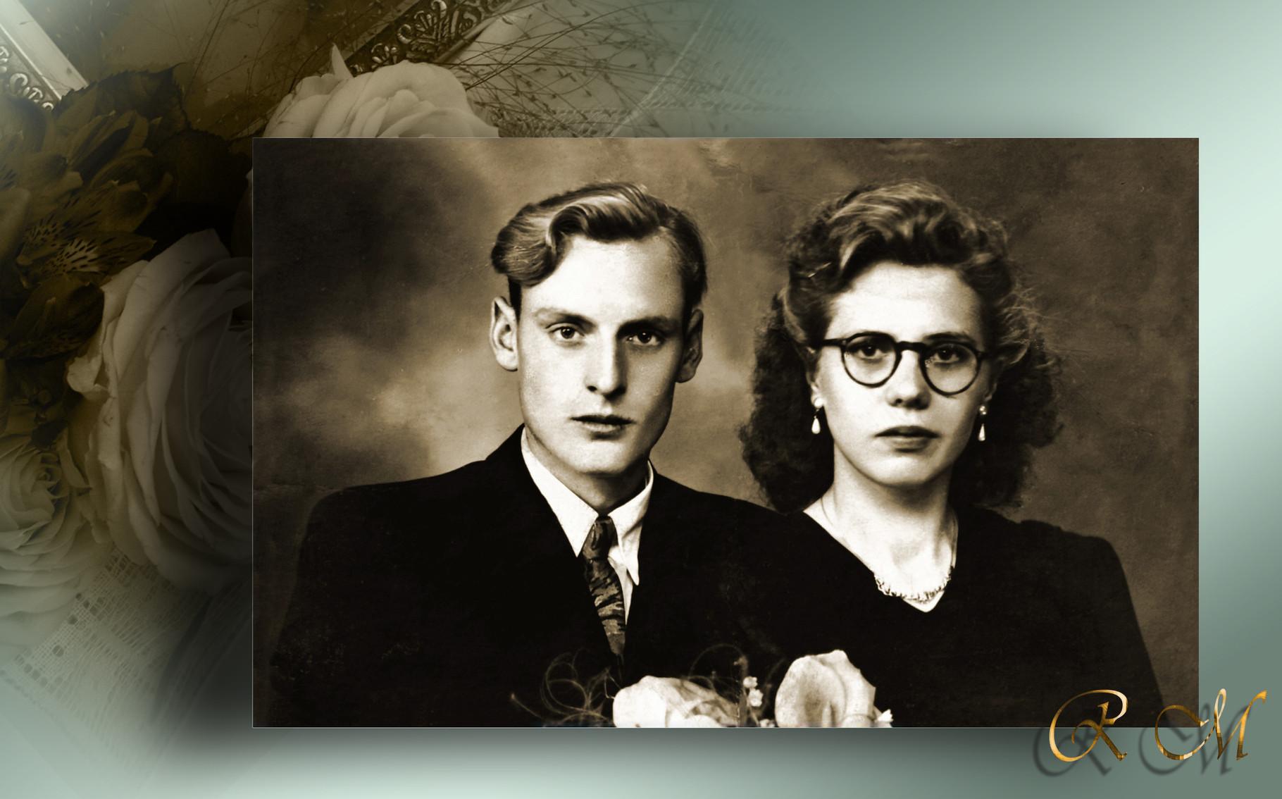 Rik Gielen en Maria Duts