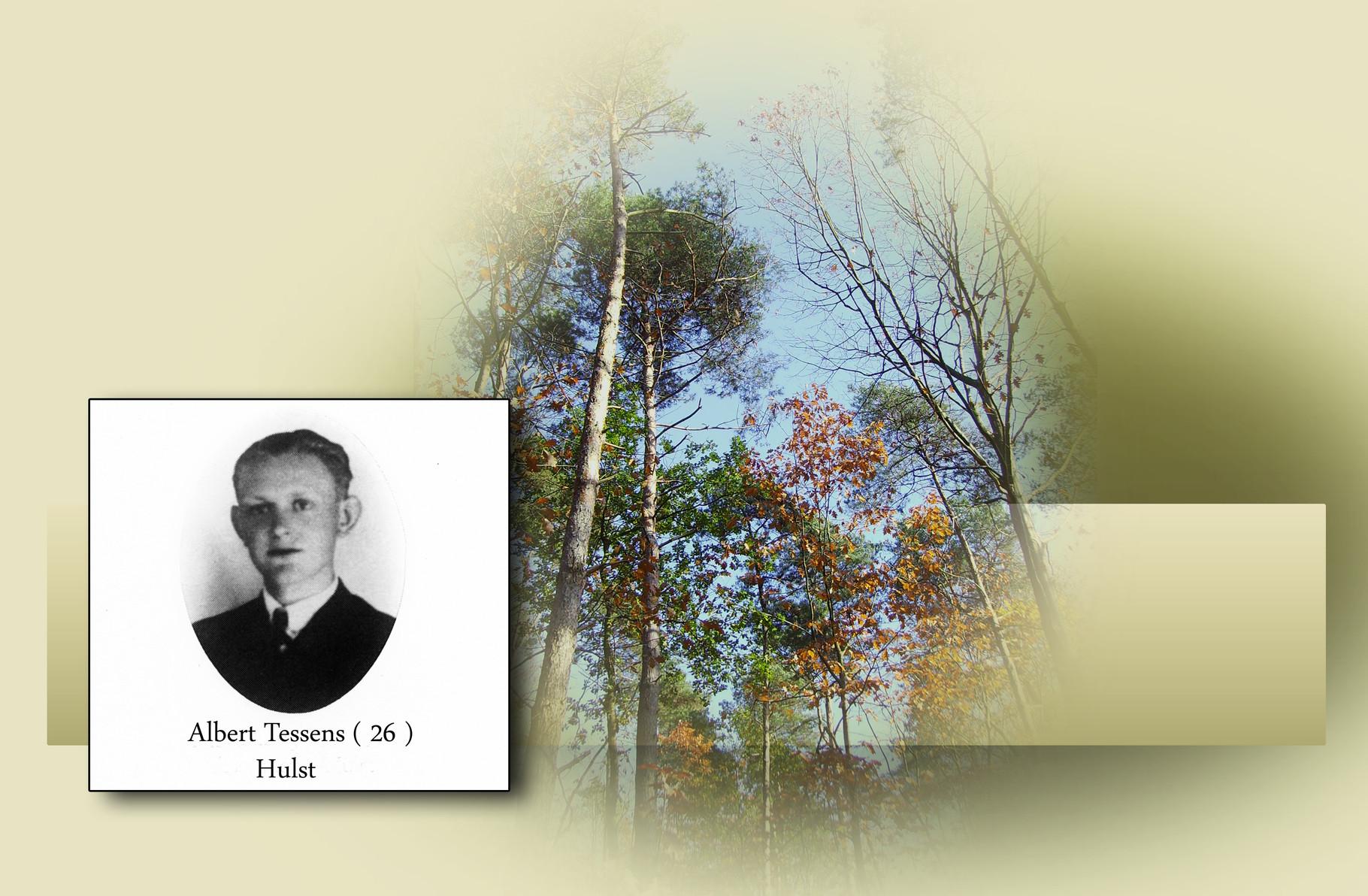 Albert Tessens-overleden bij fabrieksramp