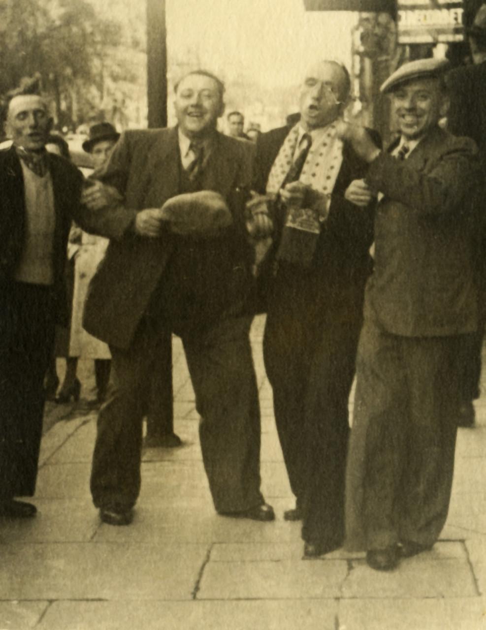 Mijnwerkers in Brussel