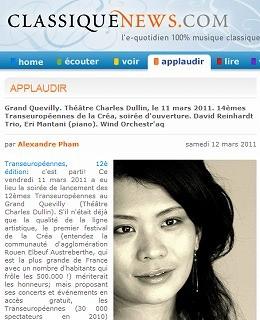 CLASSIQUENEWS.COM / Mar.12 2011