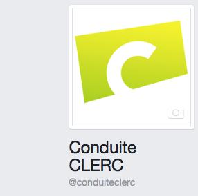 facebook, page, conduite clerc, clerc, auto ecole, twitter, @conduiteclerc, legé, réseaux sociaux, évènements, like, aime partage.