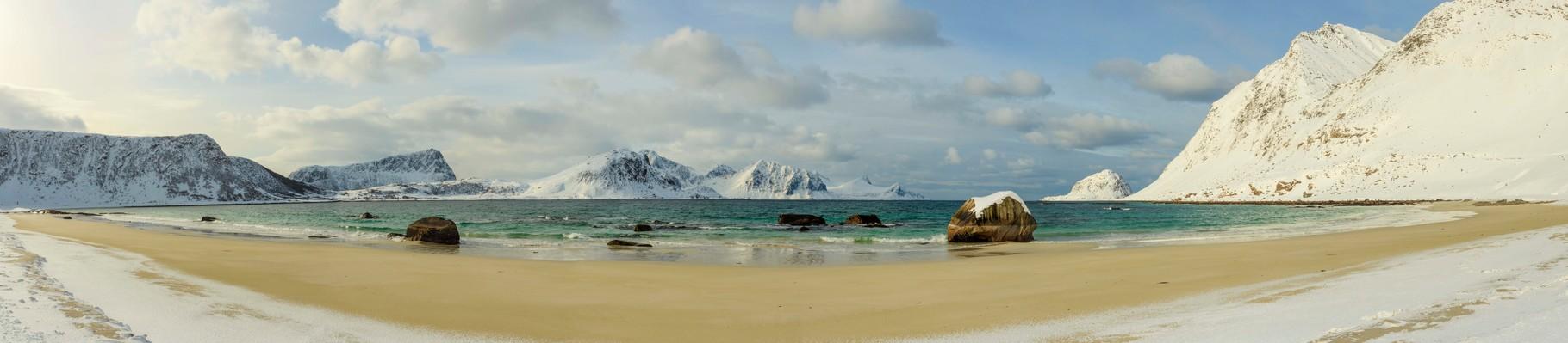 Haukland, Lofoten, Norwegen