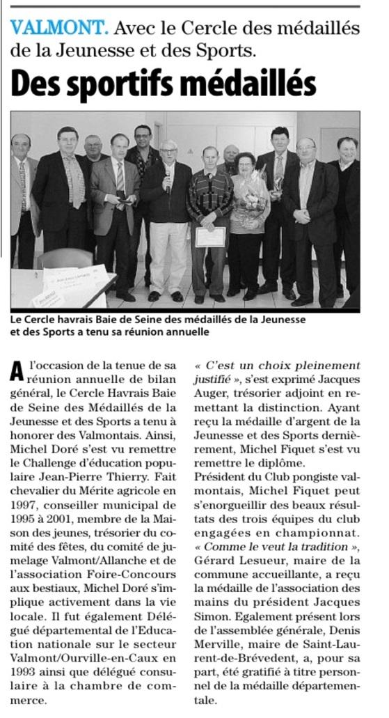PARIS-NORMANDIE 8 février 2013