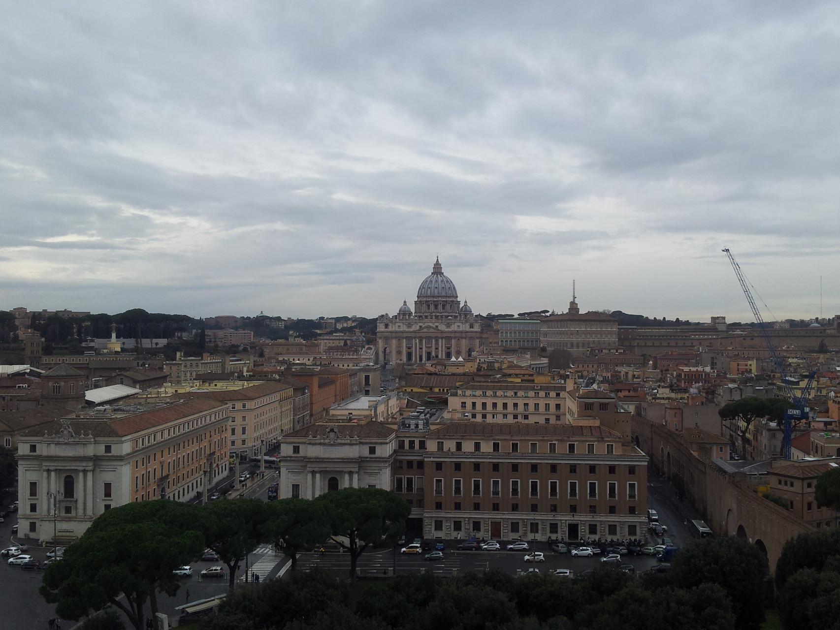 Rom von der Engelsburg aus