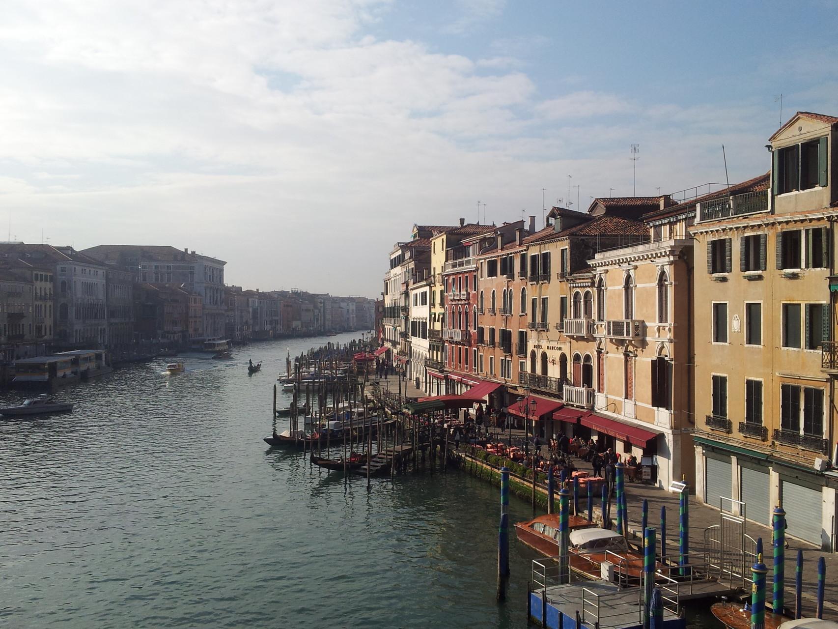 Blick von der Rialto-Brücke