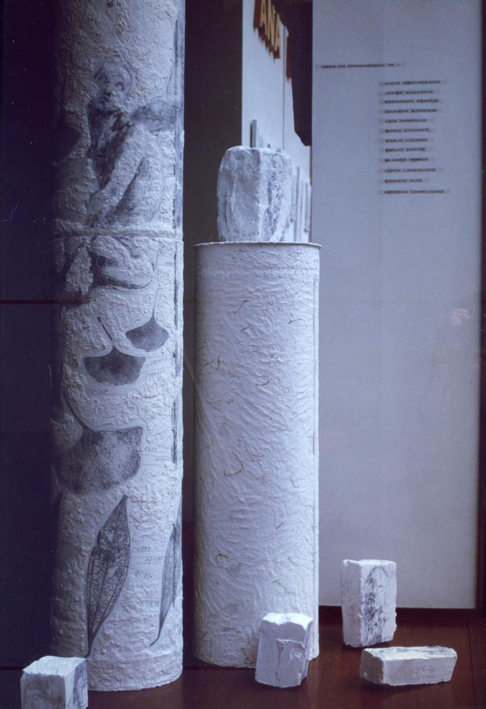 HUELLAS-TRACES 1995  Hombre-Fósil