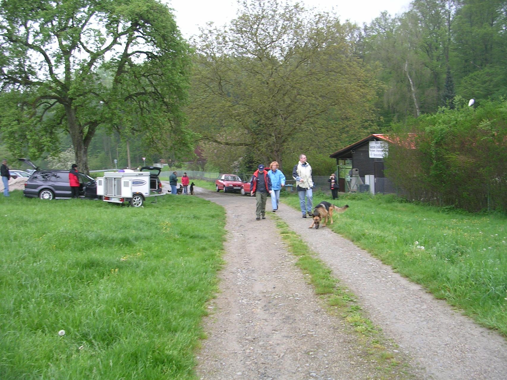 Wanderung Himmelfahrt 2005 mit anschließendem Forellenessen