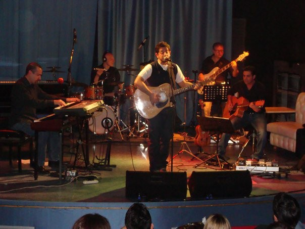 Live al C.E.T. di Mogol con Giuseppe Anastasi (Arisa, Pausini) Febbraio 2011