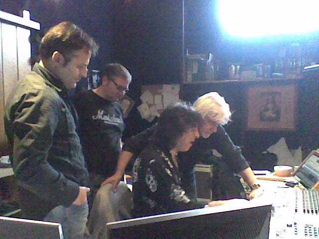 in studio con Dereck Wilson e Mario Schilirò