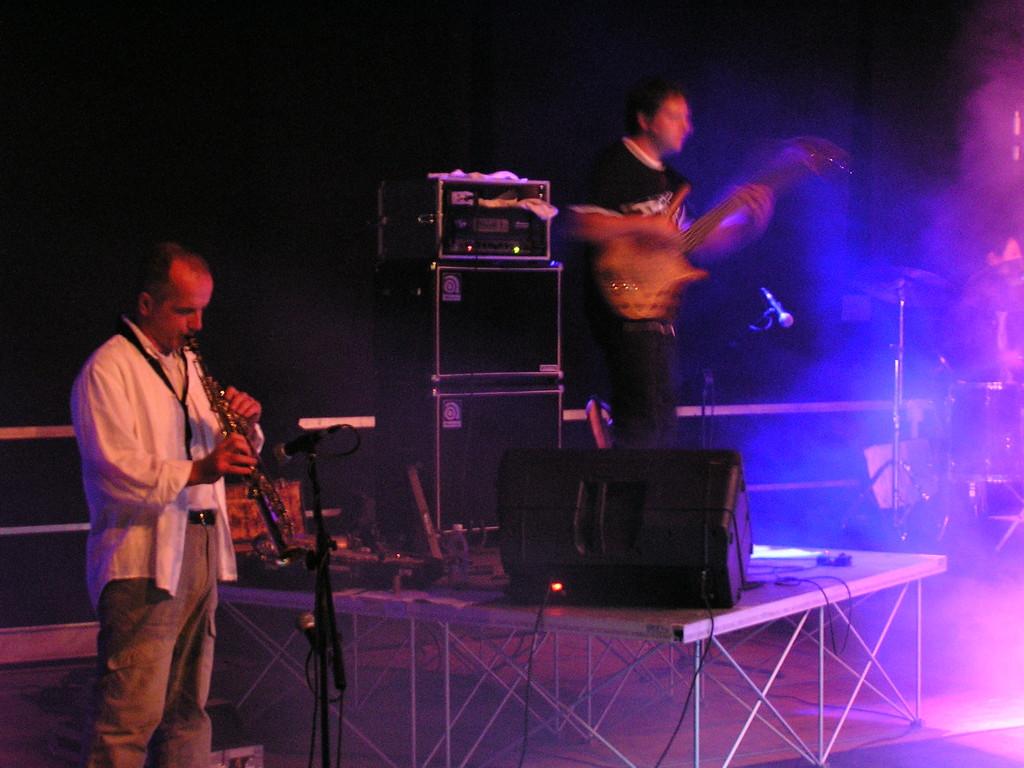 con Fabio Tullio in concert