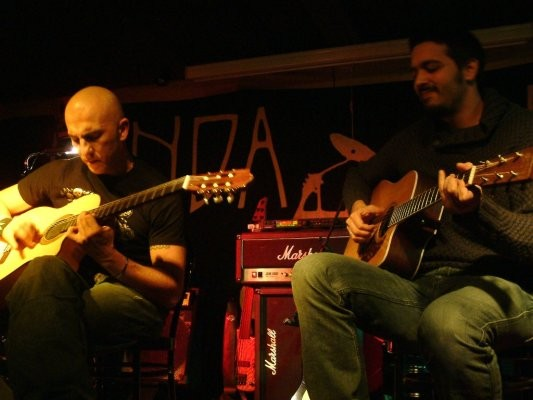 con Stefano Scarfone e Roberto Angelini