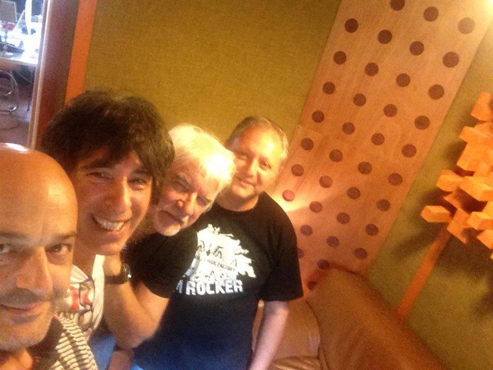 in studio con Mario Schilirò e Dereck Wilson