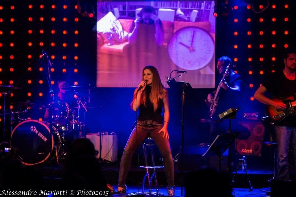 Live con Serena Bagozzi (C.Baglioni) 2015