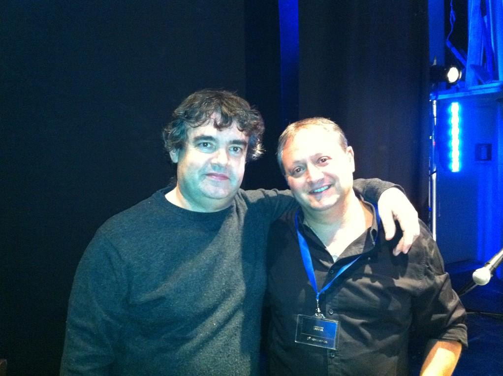 con Amedeo Bianchi in Teatro