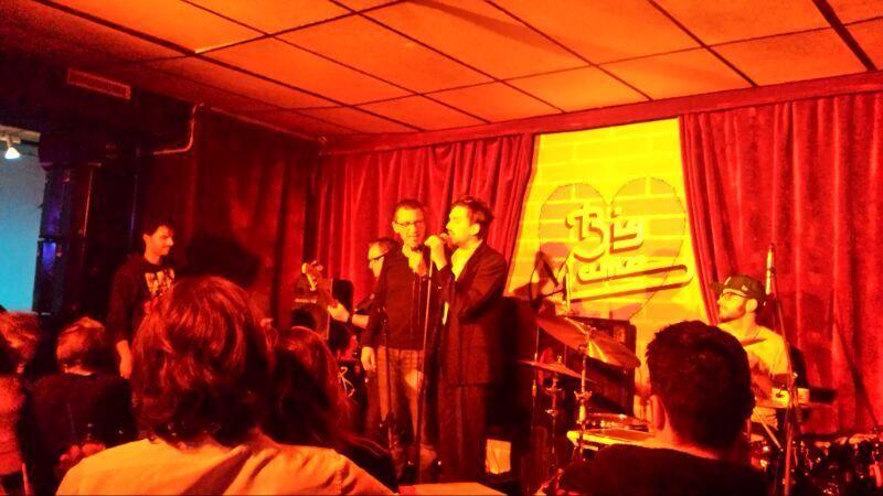 Live con Arnaldo Santoro e Gegè Telesforo