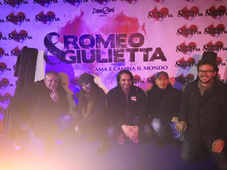 """Gran Teatro Roma per il Musica """"Romeo e Giulietta"""" (di David Zard)"""