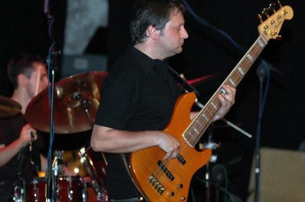 RAI 3 - Daniele Perrino (Teatro - Treviso 2005), alle mie spalle Stefano Marazzi