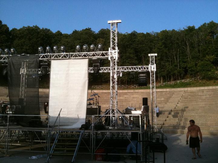 Allestimento... (Reggio Calabria - Agosto 2010)