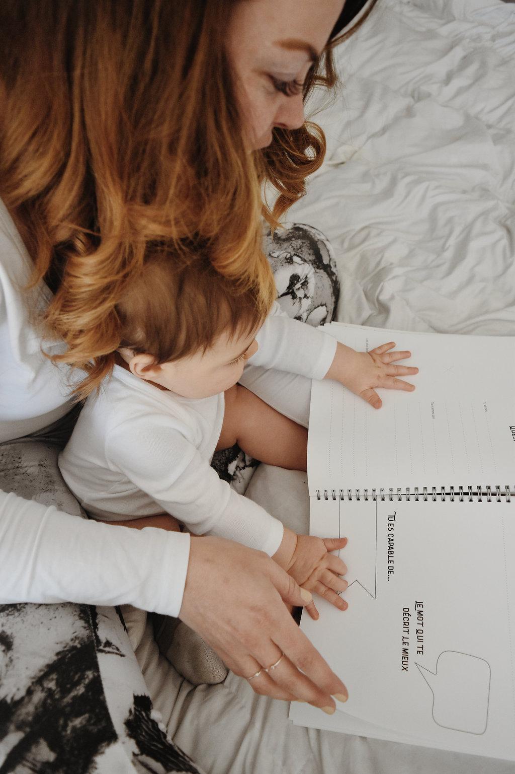 Livre de naissance unisexe