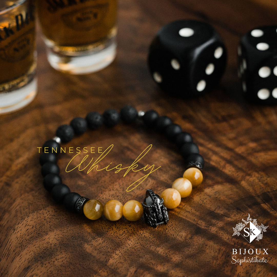 Bracelet Tennessee Whisky. Crédit photo : Sophie Gélinas photographe