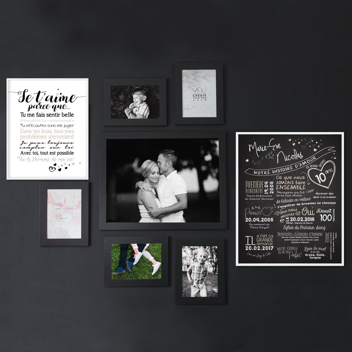 Affiche pour mariage