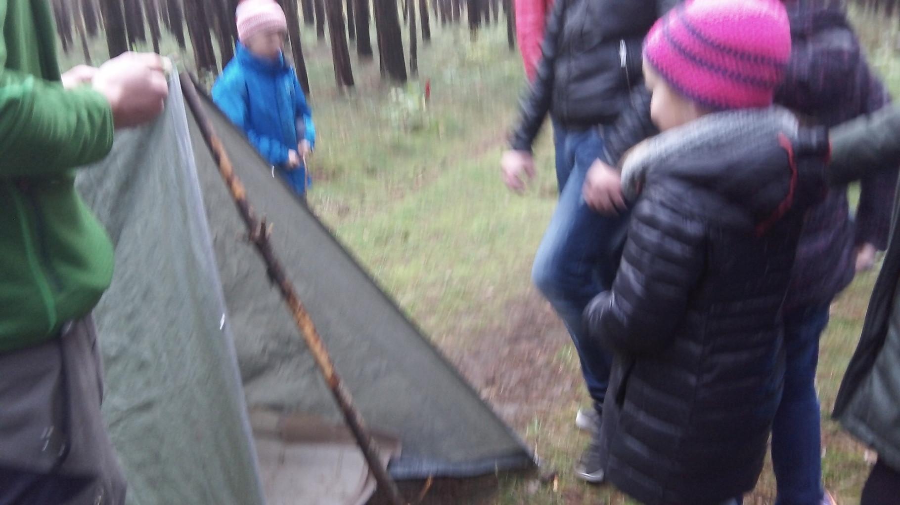 Mal noch eine andere Form eines Zeltes!