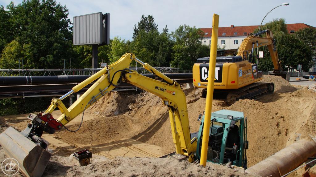 und jetzt wird verfüllt | Foto: © detlefzabel.de