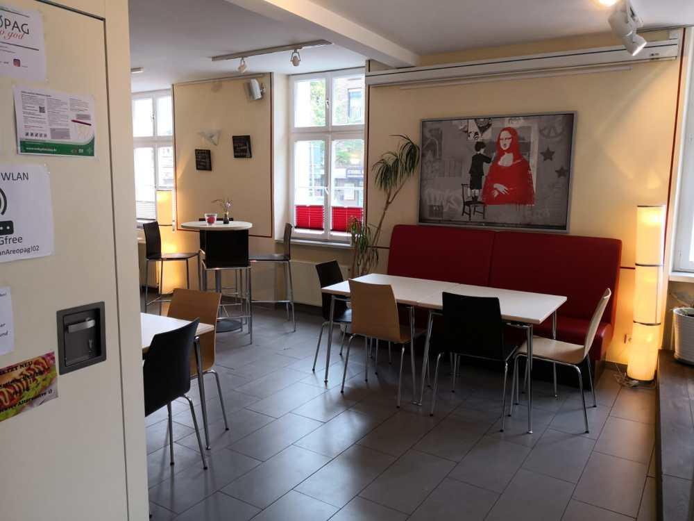 Café Sitzgelegenheiten