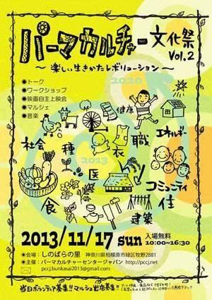 パーマカルチャー文化祭 2013