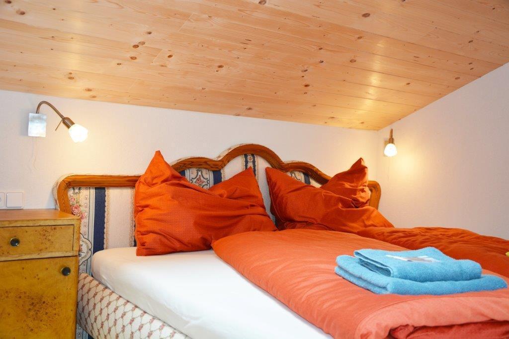 Unterkunft und Nächtigung im Fichte - Doppelzimmer der Gauguschmühle