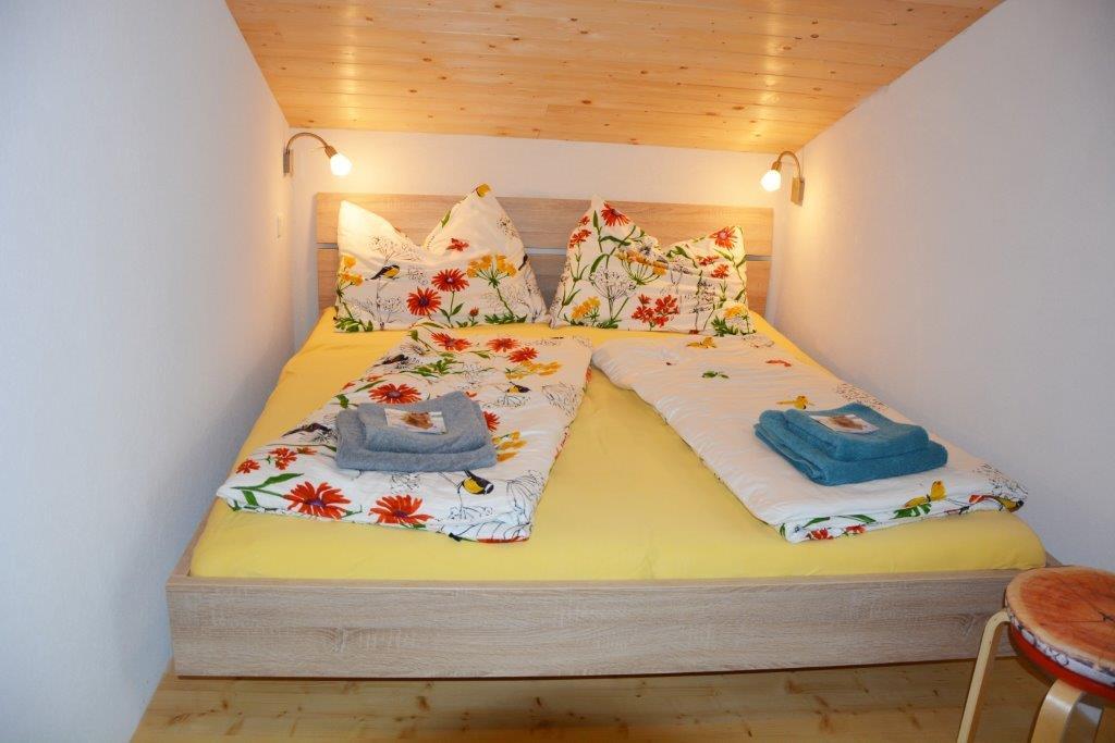 Unterkunft und Nächtigung im Tanne - Doppelzimmer der Gauguschmühle