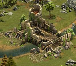 Taverne en ruine